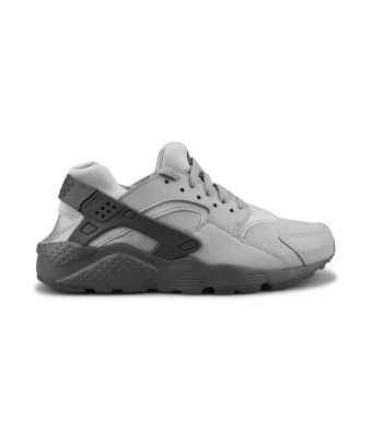NIKE HUARACHE RUN JUNIOR GRIS LOUP 654275-032