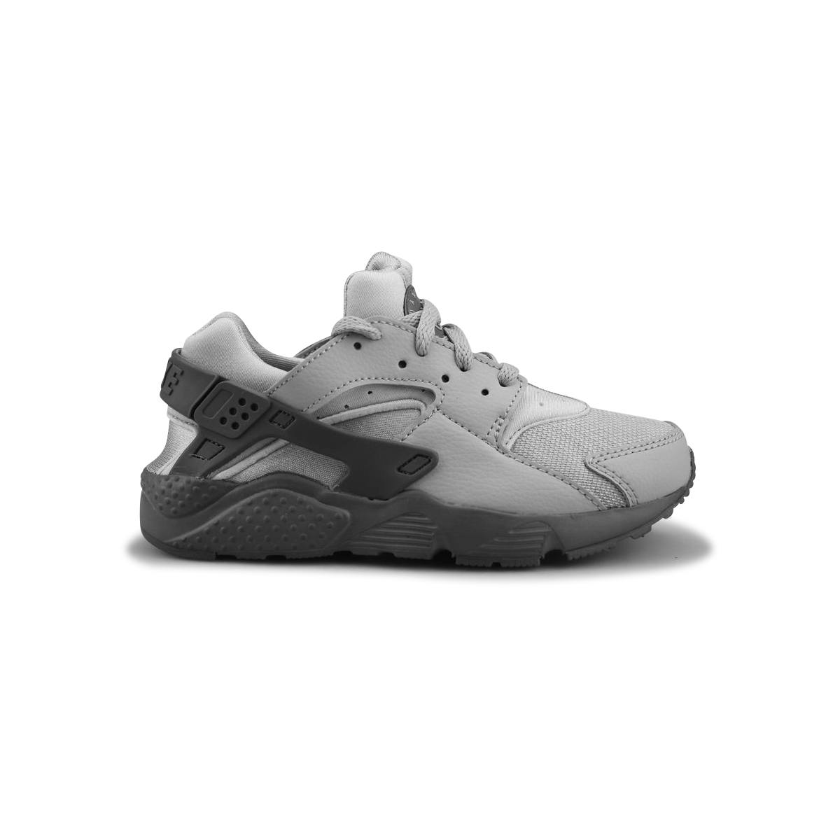 NIKE HUARACHE RUN ENFANT GRIS LOUP 704949-032. Loading zoom
