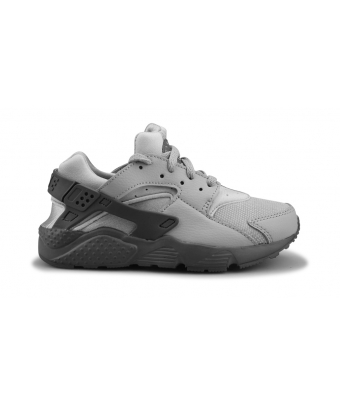 NIKE AIR HUARACHE RUN ENFANT GRIS LOUP 704949-032