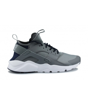 NIKE AIR HUARACHE RUN ULTRA GRIS FRAIS 819685-013
