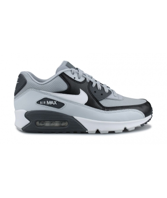 NIKE AIR MAX 90 ESSENTIAL GRIS LOUP 537384-083