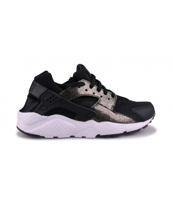 NIKE HUARACHE RUN SE JUNIOR NOIR 904538-005