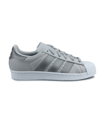 Adidas Originals Superstar Junior Argent CQ2689