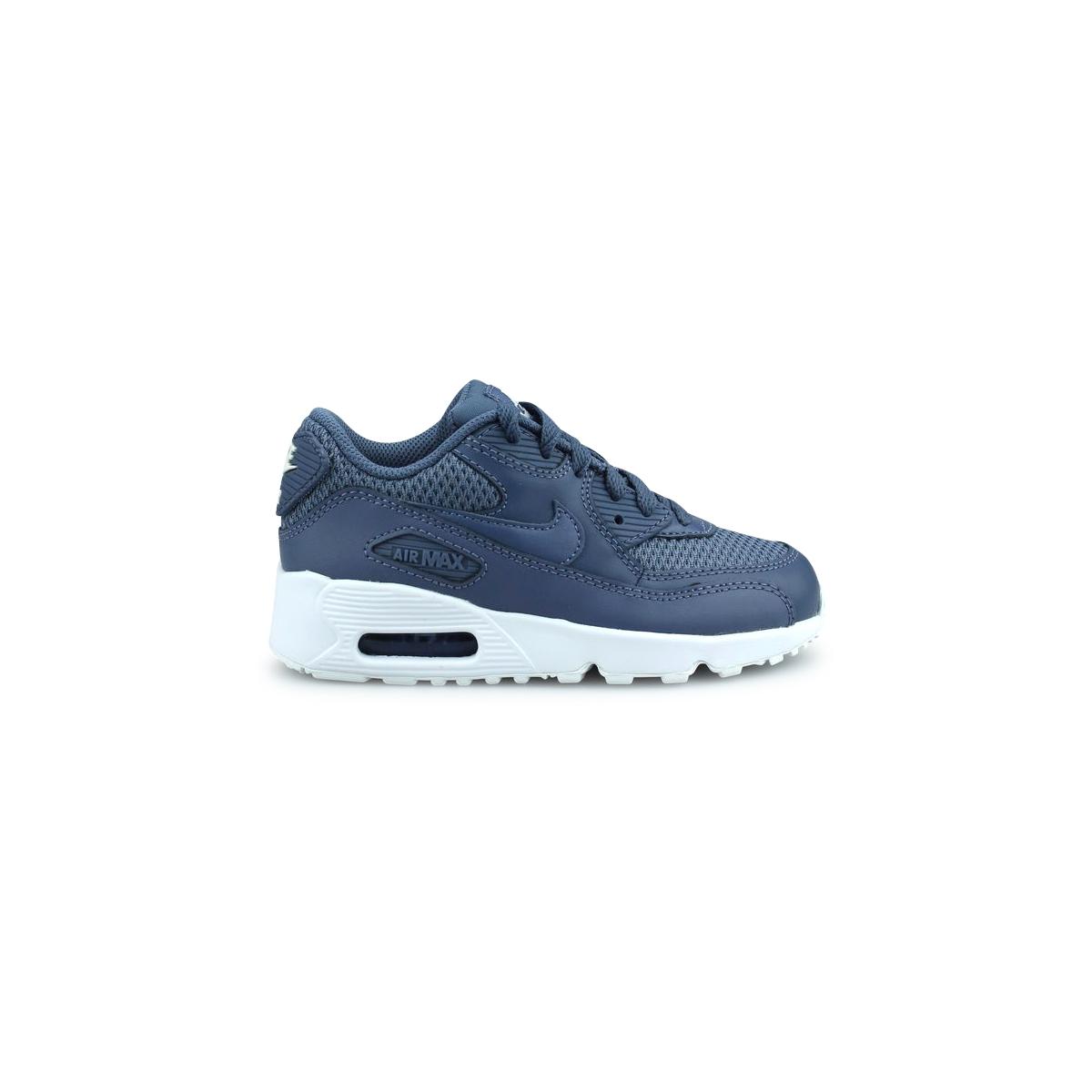 Nike Air Max 90 Mesh enfant Bleu 833420-409 aVhuRf