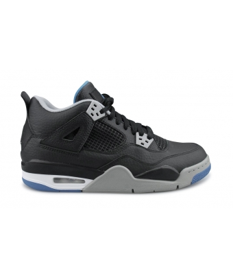 AIR JORDAN 4 RETRO JUNIOR NOIR 408452-006