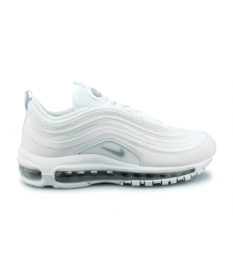 NIKE AIR MAX 97 JUNIOR BLANC 921522-100