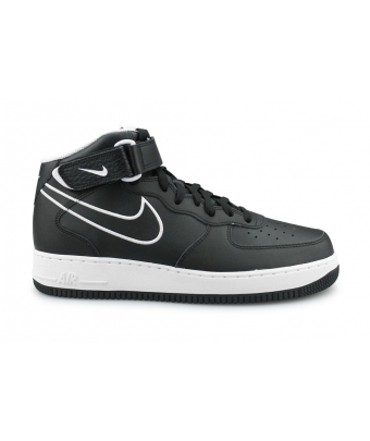NIKE AIR FORCE 1 MID 07' LTR NOIR AQ8650-001