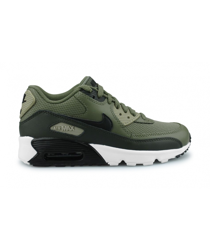NIKE AIR MAX 90 MESH JUNIOR OLIVE 833418-201