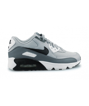 NIKE AIR MAX 90 MESH JUNIOR GRIS LOUP 833418-024