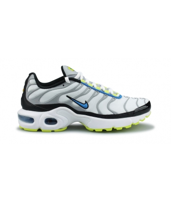 NIKE AIR MAX PLUS JUNIOR BLANC 655020-115
