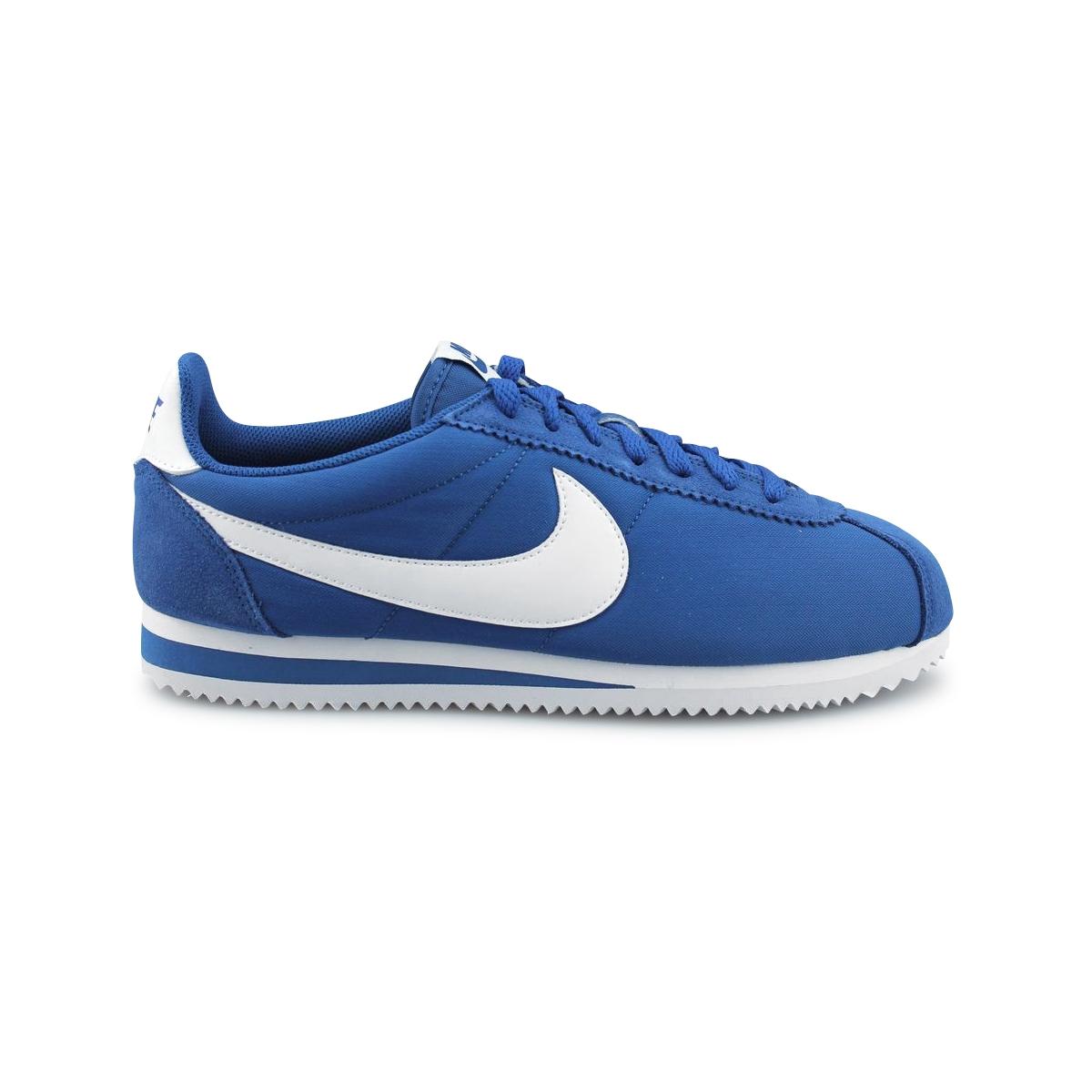 Classic Bleu Nike Cortez Nylon 406 807472 FJuKc5Tl13