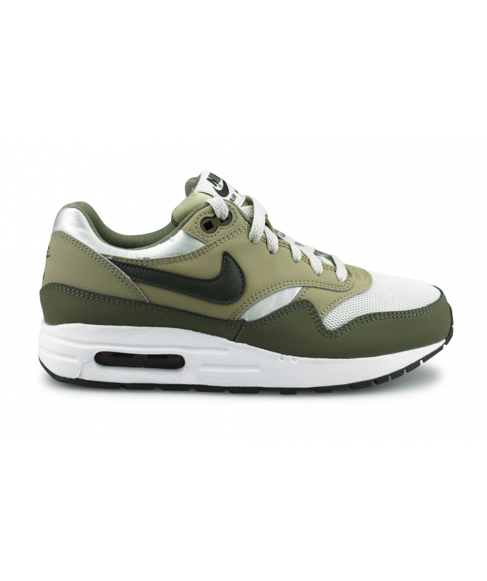 NIKE AIR MAX 1 JUNIOR OLIVE 807602-200