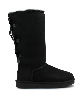 UGG W BAILEY BOW TALL 2 NOIR 1016434BLK