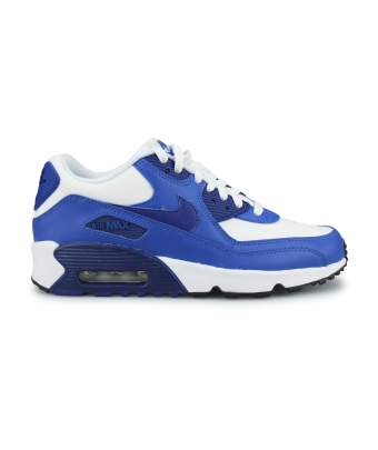 NIKE AIR MAX 90 LTR JUNIOR BLANC 833412-105