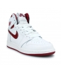 AIR JORDAN 1 RETRO HIGH OG JUNIOR BLANC 575441-103