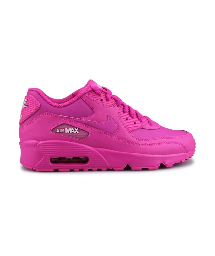 NIKE AIR MAX 90 LTR JUNIOR FUSHIA 833376-603