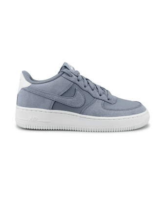 NIKE AIR FORCE 1 SUEDE JUNIOR ARDOISE CENDREE AR0265-400