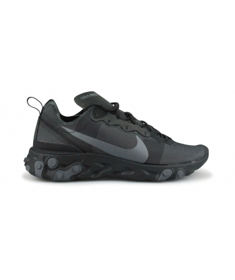 NIKE REACT ELEMENT 55 NOIR bq6166-008
