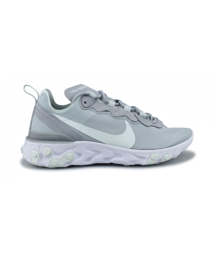 WMNS NIKE REACT ELEMENT 55 GRIS LOUP BQ2728-005