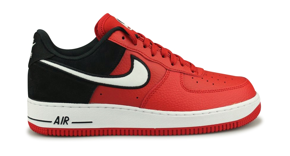 separation shoes bb857 80fc7 NIKE AIR FORCE 1  07 LV8 1 ROUGE AO2439-600 - oshooz.fr