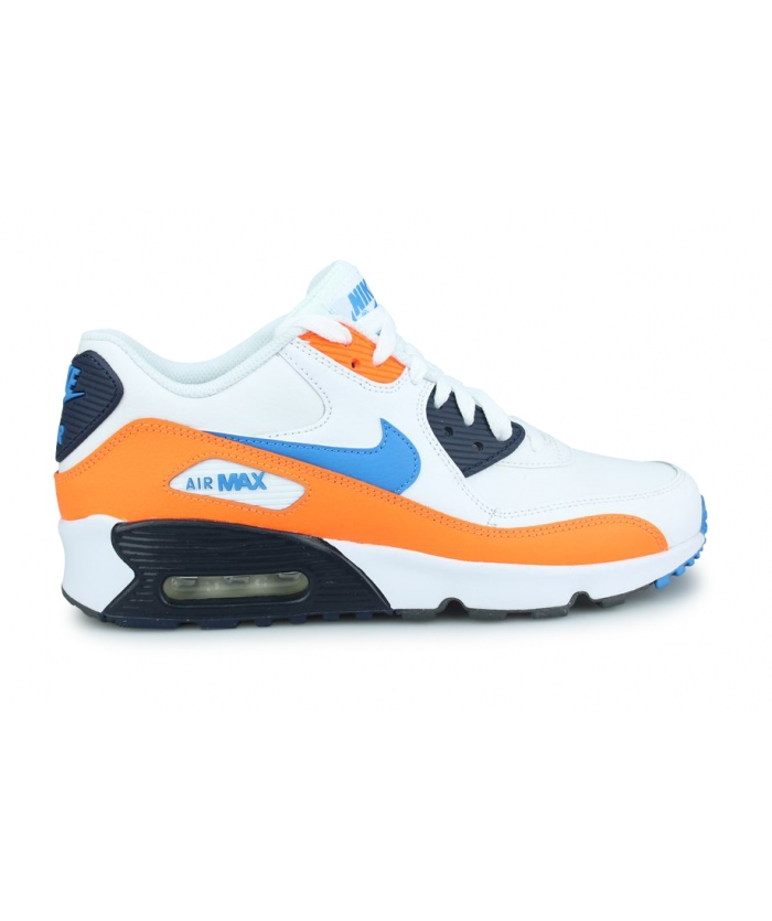 NIKE AIR MAX 90 LTR JUNIOR BLANC 833412-116
