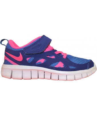 Nike Free Run 2 (PS) Bleu