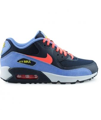 Nike Air Max 90 Mesh Junior Bleu 724855-408