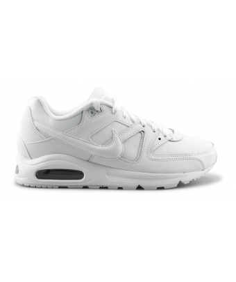 NIKE AIR MAX COMMAND LEATHER BLANC 749760-102