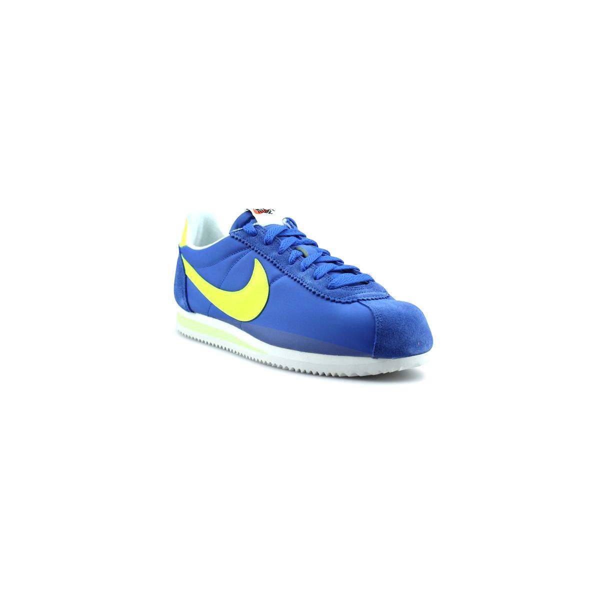 Nike Classic Cortez Nylon Aw Bleu 844855-470 43