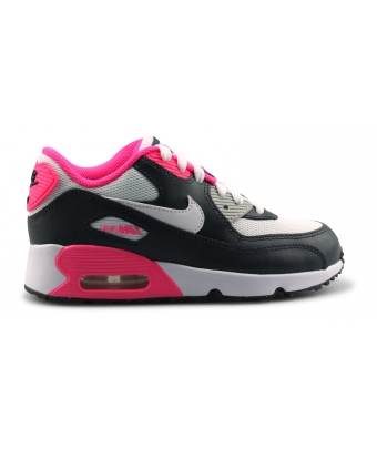 NIKE AIR MAX 90 MESH ENFANT ANTRACITE 833341-001