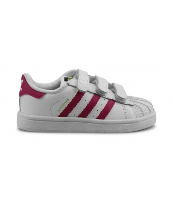 ADIDAS ORIGINALS SUPERSTAR FOUNDATION BEBE BLANC B23639